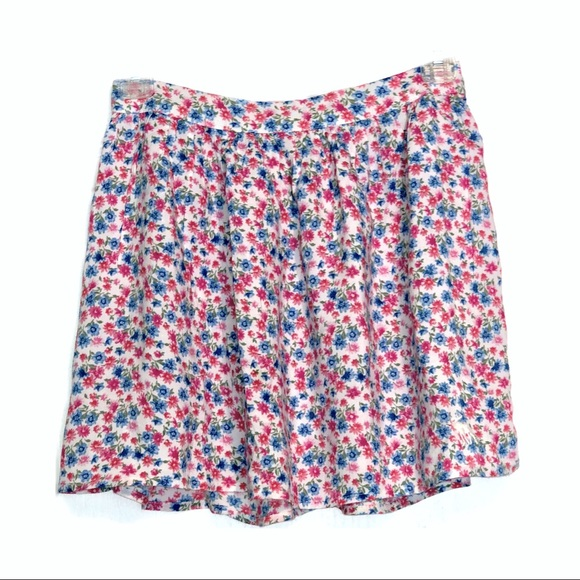 NWOT Abercrombie & Fitch Floral Skirt 100% Viscose